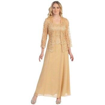 New Long  Sleeve Mother Of the Bride Dresses Long Evening Dress Brautmutterkleider Wedding Party Dresses 5