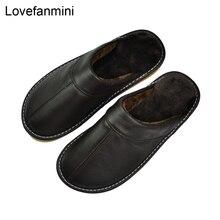 Тапочки из натуральной бычьей кожи для пар, нескользящая домашняя модная повседневная обувь для мужчин и женщин, зимняя обувь с мягкой подошвой из ПВХ 402