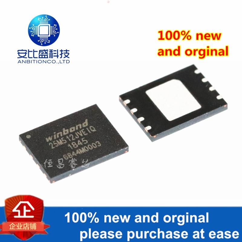 1pcs 100% New And Orginal W25M512JVEIQ Silk-screen 25M512JVEIQ W25M512 512Mbits In Stock