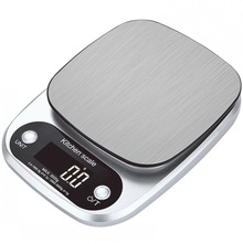 10KG/1G 3KG/0.1G Kitchen Home Food Electronic Scales High Accuracy Jewelry Diet Stainless Steel Bench Scale