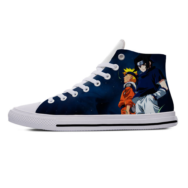 NARUTO THEMED HIGH TOP SHOES (9 VARIAN)