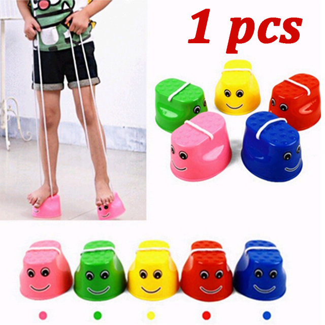 1Pcs Adorable Stilt Walk Stilt Jump Outdoor Fun Education Sports Toy for Kid Children