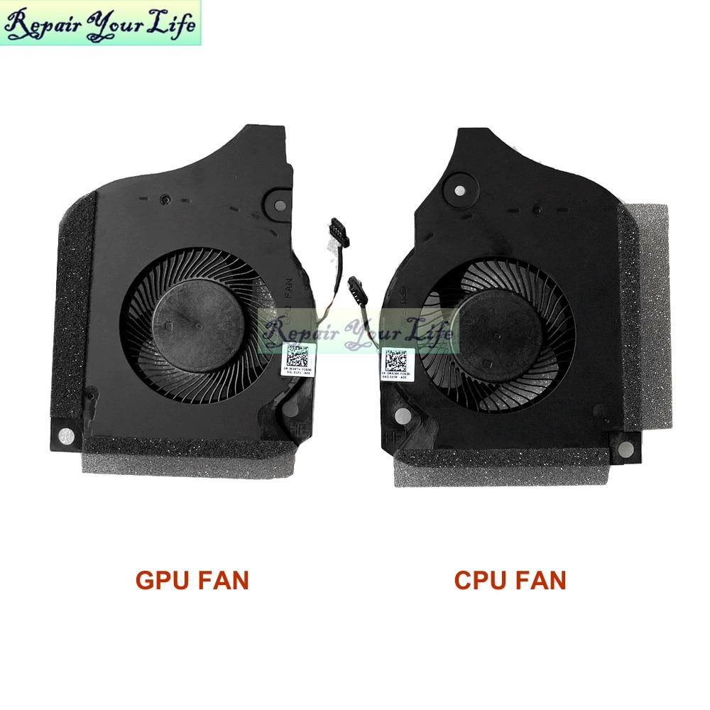 0C04TH 006KT2 ноутбук Процессор графического процессора вентилятор охлаждения для DELL INSPIRON G5-5590 G7-7590 G7-7790 C04TH 06KT2 Вентилятор Кулер DC12V 4PIN