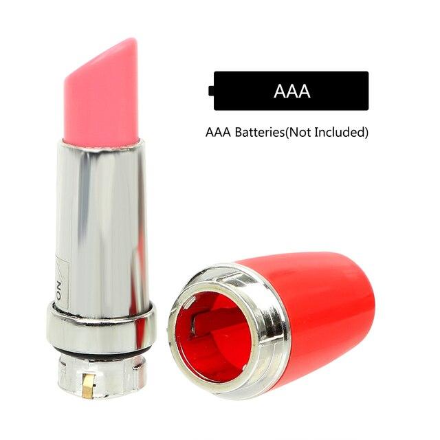 IKOKY Mini Discreet Lipstick Vibrator Waterproof Vibrating Jump Egg Bullet Massage Sex Toy for Women 5