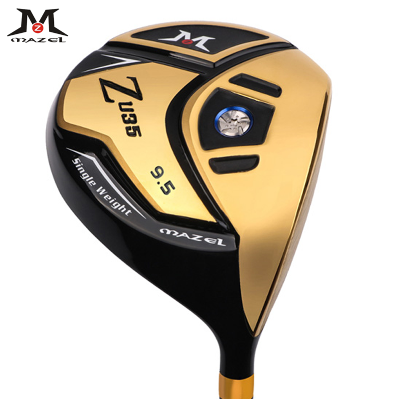 MAZELGolf Clubs Right Handed Titanium Golf Driver 460CC 9.5 Loft Degree Graphite Shaft SR Flex