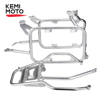 цена на For BMW R1250GS R1200GS LC Adventure Pannier Rack for BMW GS 1200 1250 LC Adventure Adv 2013-2019 Stainless Steel Top Case Rack