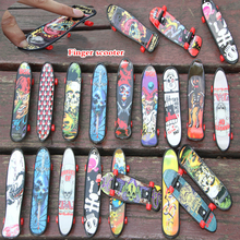 Chic-Game Scooter Finger-Skateboards Desk-Toys Boarding Birthday-Gifts Plastic Kids Mini