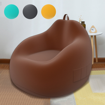 Large Small Lazy Sofas Cover Without Filler Soft Flannel Cloth Lounger Seat Bean Bag Sofa Cover Totoro Bag Cover For Living Room