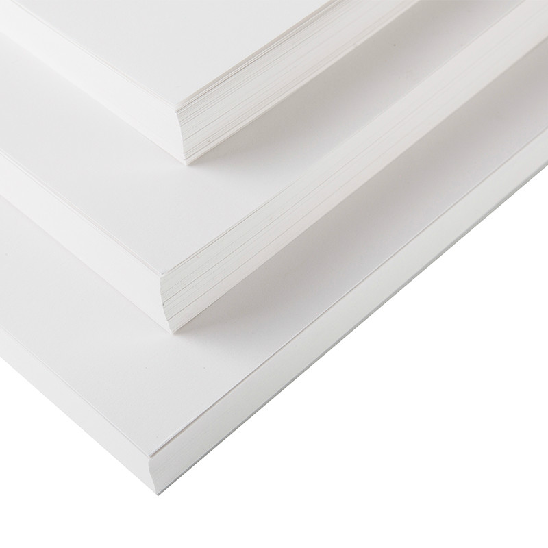 120-400gsm White Kraft Paper Blank DIY Postcard Paper Making Craft Paper A4/A3/4K/8K Thick Paperboard Cardboard Hand-painted