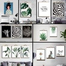 Cadre photo en toile magnétique, en teck, chevalet naturel, artisanat mural