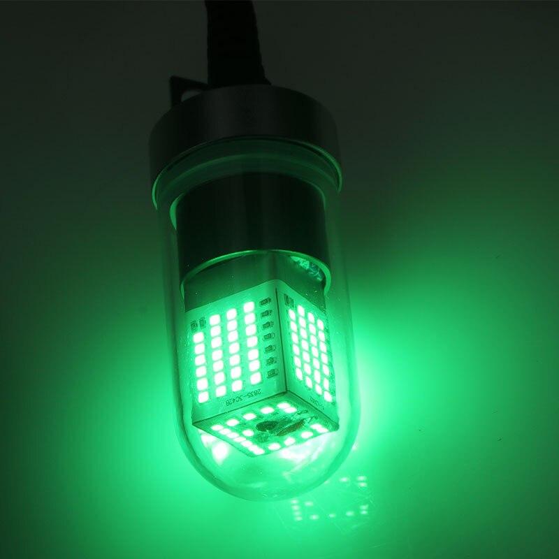 luz de pesca atrativos com bateria