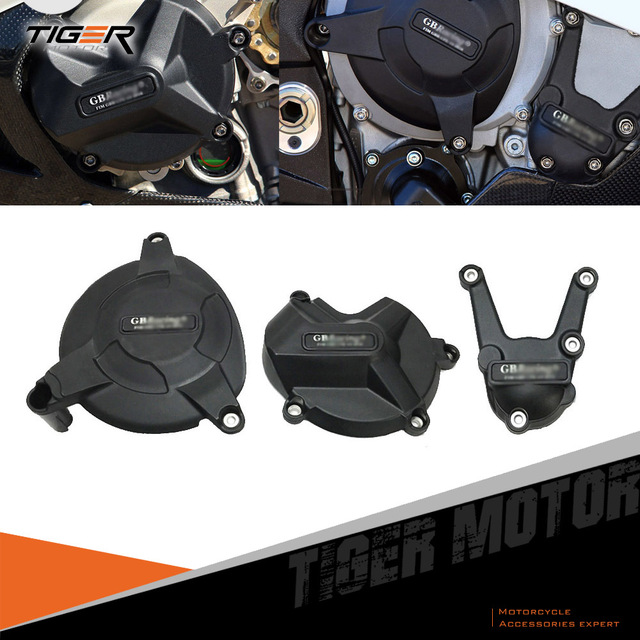 Motorcycles Secondary Engine Cover Set Case for BMW S1000RR S1000R 2009 2016 for GB Racing Tough PPA