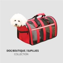 Сумка-переноска для маленьких и средних собак, одобренная авиакомпанией, мягкая дорожная сумка-переноска для домашних животных