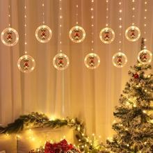 300cm Led Christmas Light Wedding New Year Holiday Warm Light Lights Outdoor Atmosphere Decor Indoor White Festive Decorati P4K4
