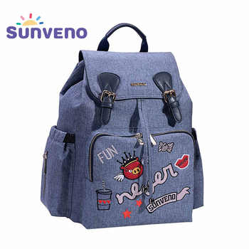 Sunveno Fashion Mummy Maternity Nappy Bag Brand Baby Bag Backpack Diaper Bag Nursing Bag for Baby Care - DISCOUNT ITEM  35% OFF All Category