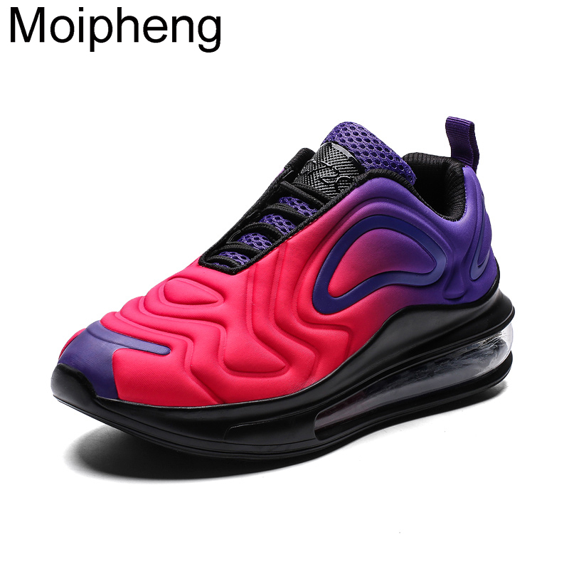 Moipheng New Women Shoes 2019 Autumn Chunky Basket Shoes Graffiti Flat Casual Colorful Lover Shoes Plus Size 11 Zapatos De Mujer