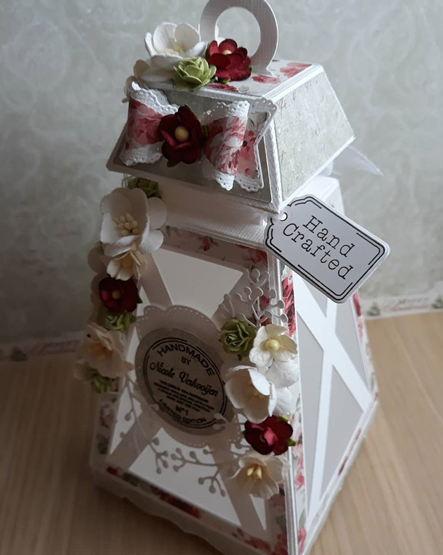 Image 2 - 3D Lantern Metal Cutting Dies For Scrapbooking Stencils DIY Album Cards Decoration Embossing Folder Die Cutter Template-in Cutting Dies from Home & Garden