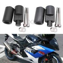 ไม่มีตัดSlidersกรอบรถจักรยานยนต์Protectorป้องกันเครื่องยนต์สำหรับSuzuki GSX R GSXR 1000 GSXR1000 K5 2005 2006