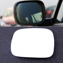 beler Chrome Heated Driver Side Wing Mirror Glass with Adhesive Backing Plate fit for Volvo XC70 XC90 2008 2009 2010