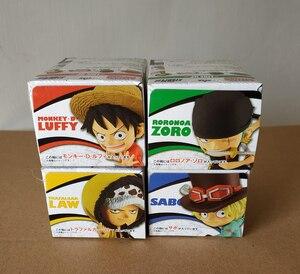 "Image 5 - ""ONE PIECE"" BANDAI ADVERGE MOTION STAMPEDE Collection Figure   Luffy Zoro Law Sabo HANCOCK Tony Tony Chopper Smoker Crocodile"