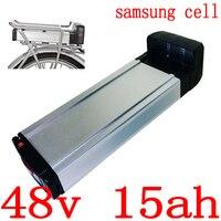 1000 w 48 v 15ah bateria elétrica da bicicleta 48 v 9ah 12ah 15ah bateria de lítio uso samsung célula para 48 v 500 w 750 w 1000 w ebike motor