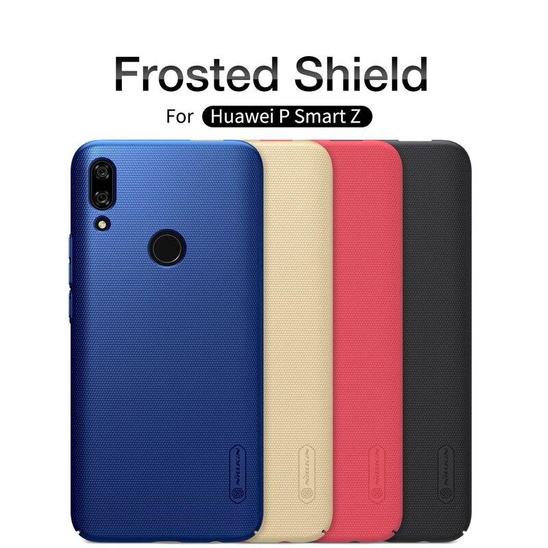 Caso do smartphone à prova de choque armadura para Huawei P Smart Z, original NILLKIN escudo fosco