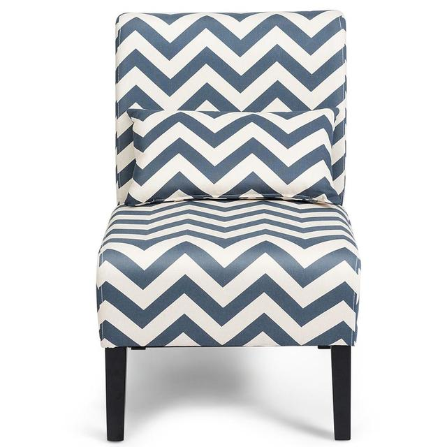 Set of 2 Armless Accent Chairs  6