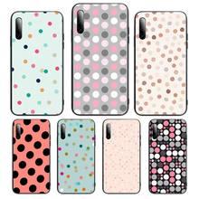 Polka Dots Phone Case For Huawei P Y Nova mate 20 30 10 40 pro lite smart Cover Fundas Coque
