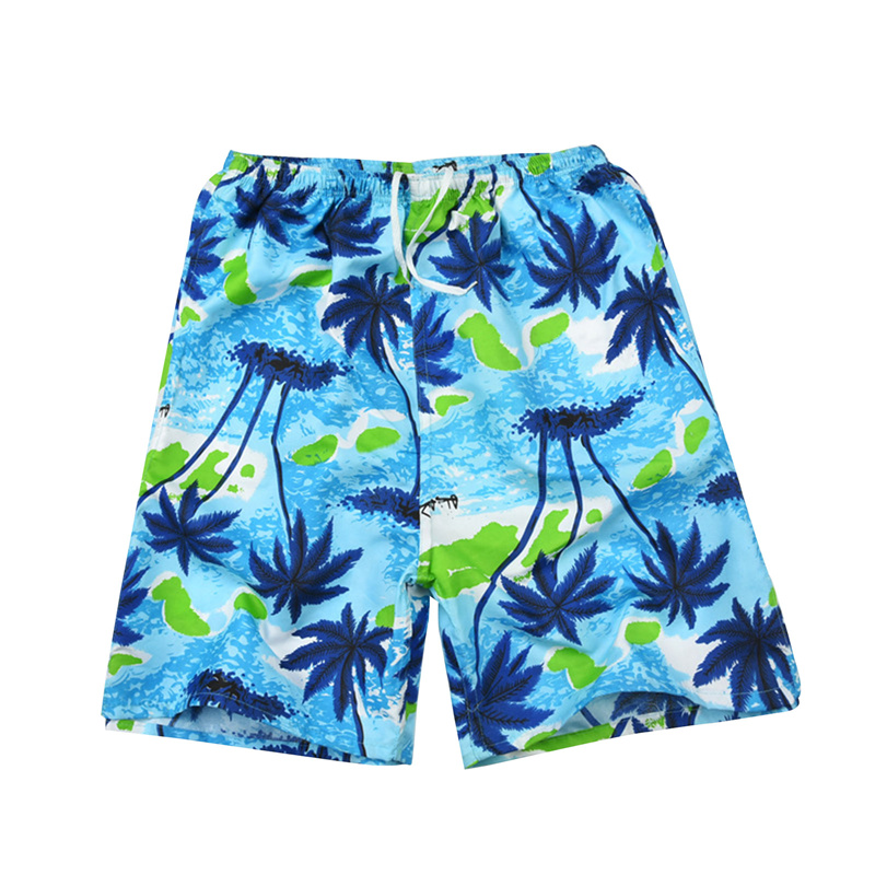 Men Casual Shorts Printed Beach Quick Dry Board Breathable Waterproof  Pant One Size 22 Styles 4