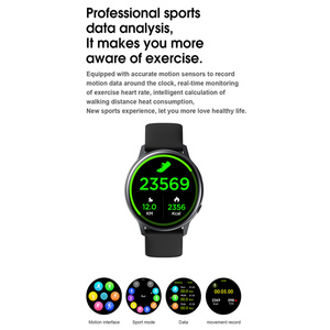 "Image 4 - עמיד למים IP68 Smartwatch + רצועה/סט חכם שעון אק""ג דם חמצן לחץ אלחוטי טעינה עבור iPhone סמסונג Huawei שעון"