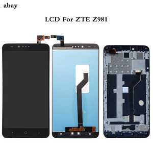 6 Inch LCD For ZTE ZMax Pro Z981 1920x1080 Lcd Display+Touch Glass Digitizer Assembly Replacement Parts