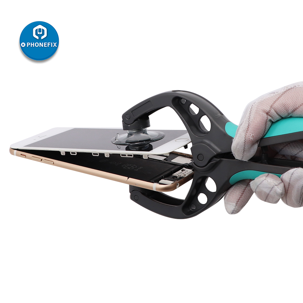 PHONEFIX Sucker Pliers Phone LCD Screen Opening Tool Tablet Opener For IPhone Repair And Samsung Repair Opening Kit With Gifts