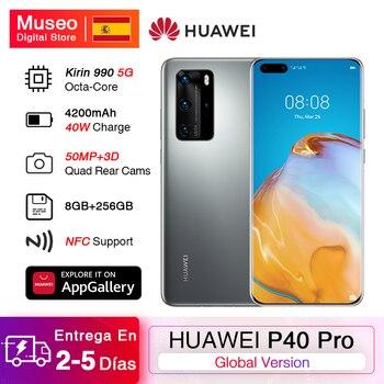 Перейти на Алиэкспресс и купить Глобальная версия смартфона Huawei P40 Pro, 8 Гб 256 ГБ, Kirin 990 5G, Восьмиядерный, тройная камера 6,58 '', 90 Гц, суперзарядка 40 Вт