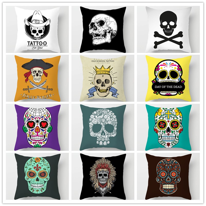 America Valentine's Day Decorative Pillow Cushion Covers Pillowcase Cushions For Sofa Polyester Pillowcover Cuscini Decorativi