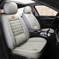 Full Coverage Eco-leather auto seats covers PU Leather Car Seat Covers for mazda 2 mazda 3 bk bl mazda 323
