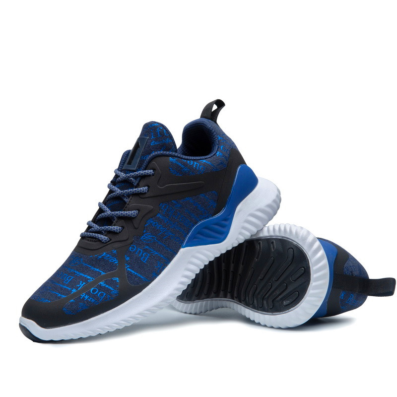 Night Reflection Light Mens Running Shoes Comfortable Breathable Men Sneaker Casual Antiskid And Wear-resistant Men Sport Shoes
