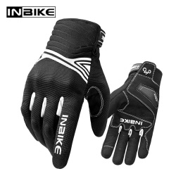 INBIKE Motorcycle Gloves Shockproof Motorbike Gloves Touch Screen Breathable Men Guantes Moto Waterproof All Season Gloves