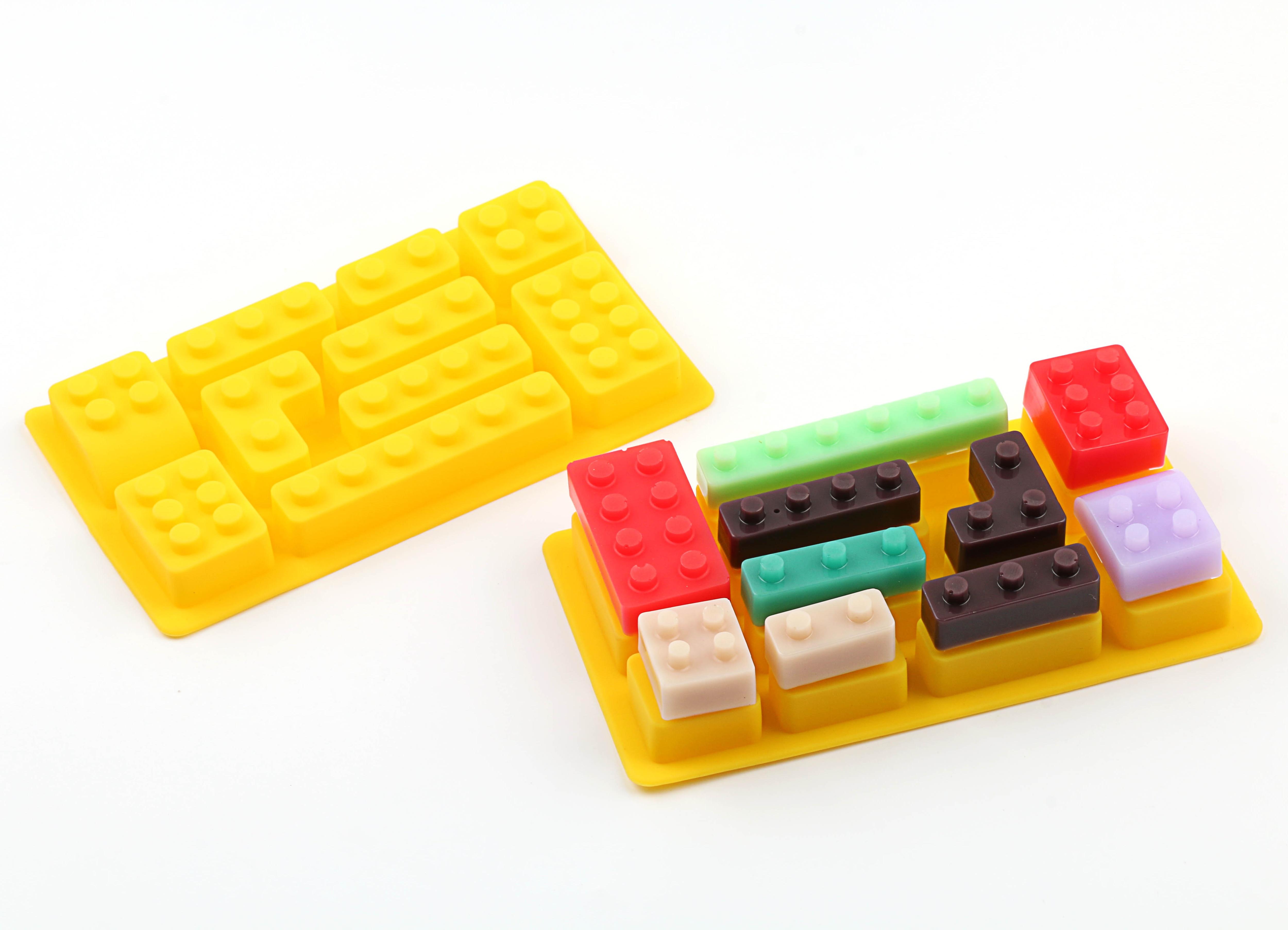 Lego Brick Jello Mold