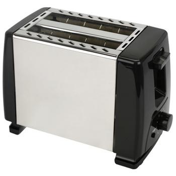 Automatyczny toster toster z 2X szerokimi szczelinami na maksymalnie 4X dyski 6X jedwabne kroki z gorącą rolką na rogaliki bułeczki Euro tanie i dobre opinie NONE 450-900g CN (pochodzenie) 500 w 220-240 v 260*360*300mm Nieprzywierająca powłoka stopowa automatic toaster Pieczenia