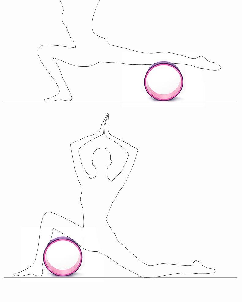 treinamento yoga círculos eva cintura forma musculação