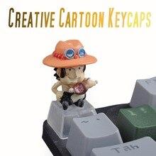 PBT Tùy Chỉnh Hình Hoạt Hình Anime R4 ESC Chơi Game Keycap Dưới Backlit Keycaps Quà Tặng Halloween Cho Cherry MX Cơ Nắp Phím