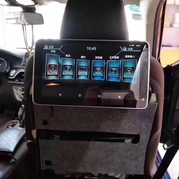 2PCS Car Android 7.1 System Head Rest Monitor For BMW 730Li 740Li 750Li 760Li Rear Entertainment System TV 12V Screen 11.6 Inch