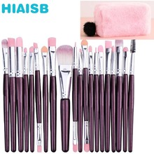 20 Makeup Brush Beauty Set Eye Shadow Neutral Face With Multi-functional Cosmetic Bag