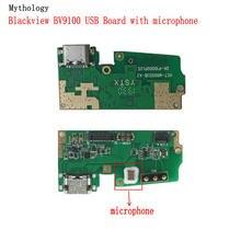 신화 Blackview BV9100 USB 보드 플렉스 케이블 독 커넥터 휴대 전화 충전기 회로 마이크
