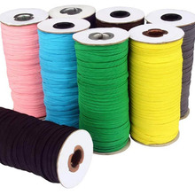 Elastic Band Sewing Flat Cord Stretchy Elastic Rope for DIY Clothes Making Sewing Knitting and Arts /& Crafts 6mm, 20 Meters