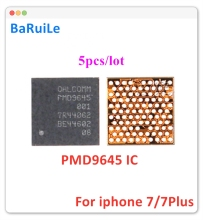 BaRuiLe 5pcs BBPMU_RF PMD9645 Chip For iphone 7 7plus BBMPU baseband Small Power Management IC For Qualcomm Version Repair Part