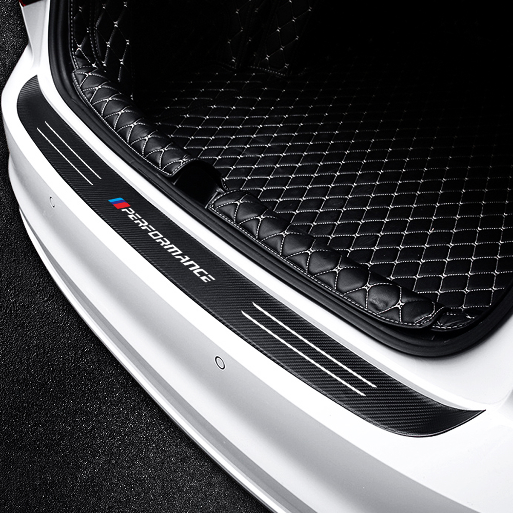 Carbon Fiber performance emblems Car Trunk Rear Bumper <font><b>Sticker</b></font> for BMW E30 E36 E39 E46 E60 E34 E70 E83 E87 E90 F20 F30 F34 <font><b>F10</b></font> image