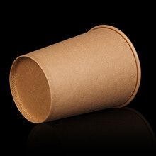Paper-Cups Drinking-Accessories Party-Supplies Kraft 20pcs/Pack Tea Thick 420ml