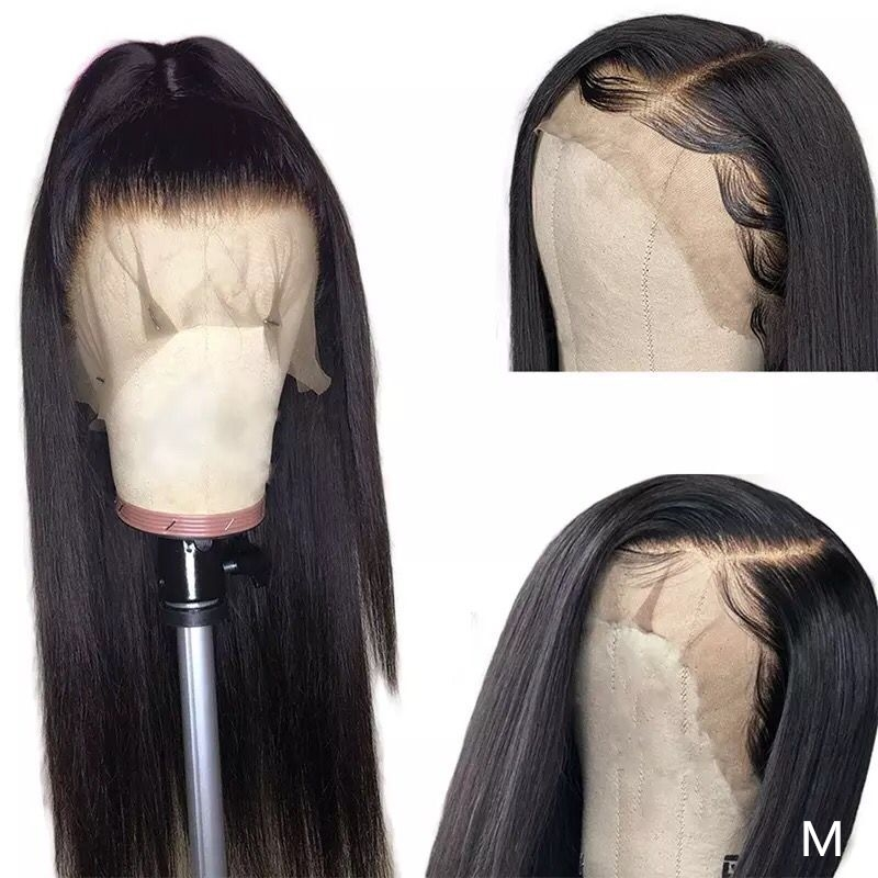 13X4 Lace Front Human Hair Wigs 150 Density Straight Lace Frontal Wigs With Baby Hair Brazilian Straight Lace Front Wig