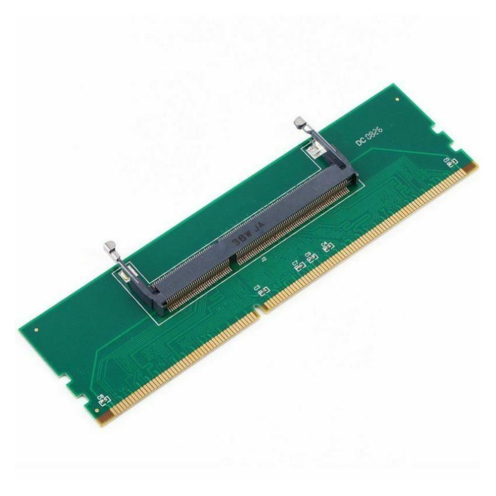 DDR3 RAM Memory Connector Adapter For SO-DIMM Laptop To DIMM Desktop New DDR3 Internal Memory Adapter For Laptop To Desktop RAM